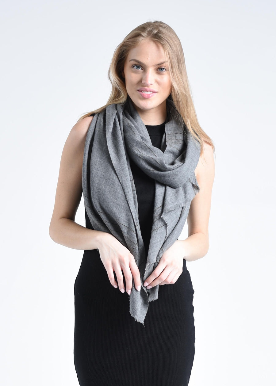 Anufred Scarf - Gray