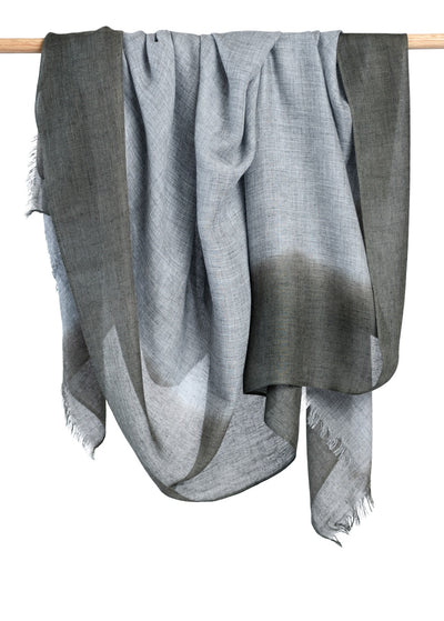 Jubilee Cashmere Scarf - Olive