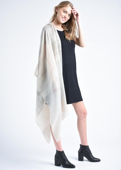 Alice Cashmere Scarf - Ivory