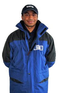 School Pastor Jacket with Printed Inner Fleece
