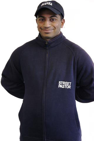 Street Pastor Sweat Shirt Jacket