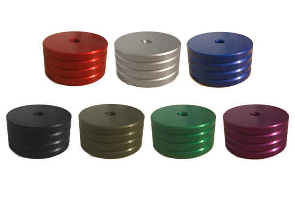 (1) - 4oz. Anodized Colored Weight