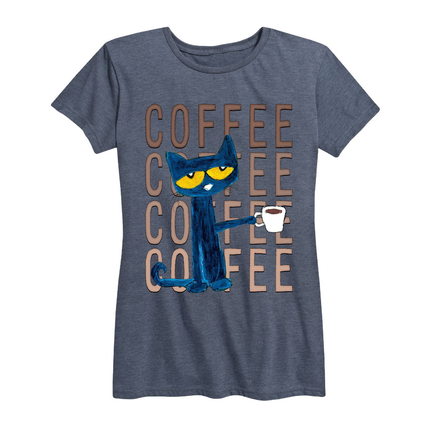 Pete With Coffee - Women's Short Sleeve T-Shirt