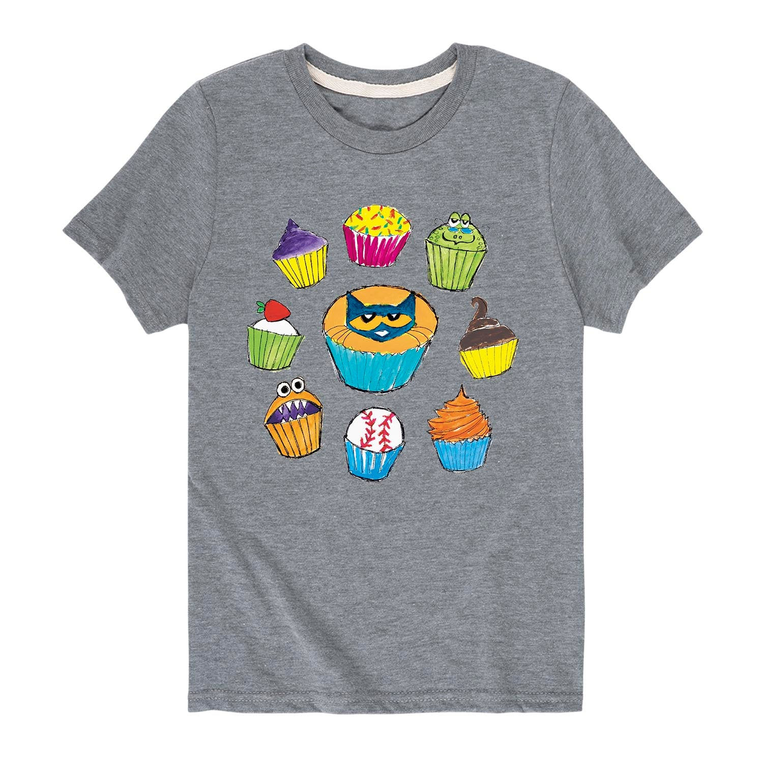 Cupcake Circle - Youth & Toddler Short Sleeve T-Shirt