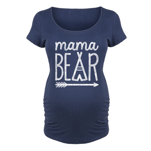 Mama Bear - Maternity Short Sleeve T-Shirt