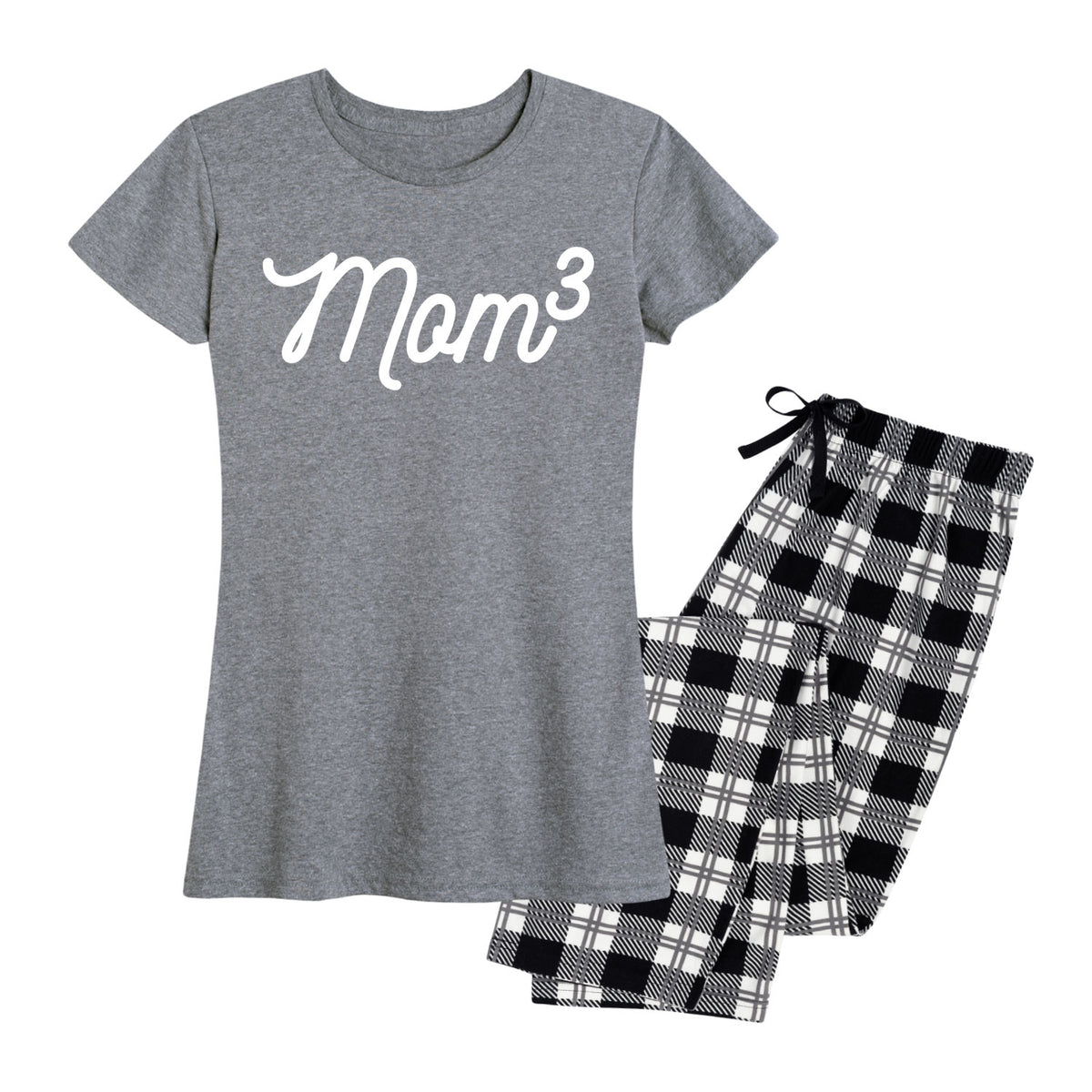 Mom to the 3rd Power - Women's Pajama Set