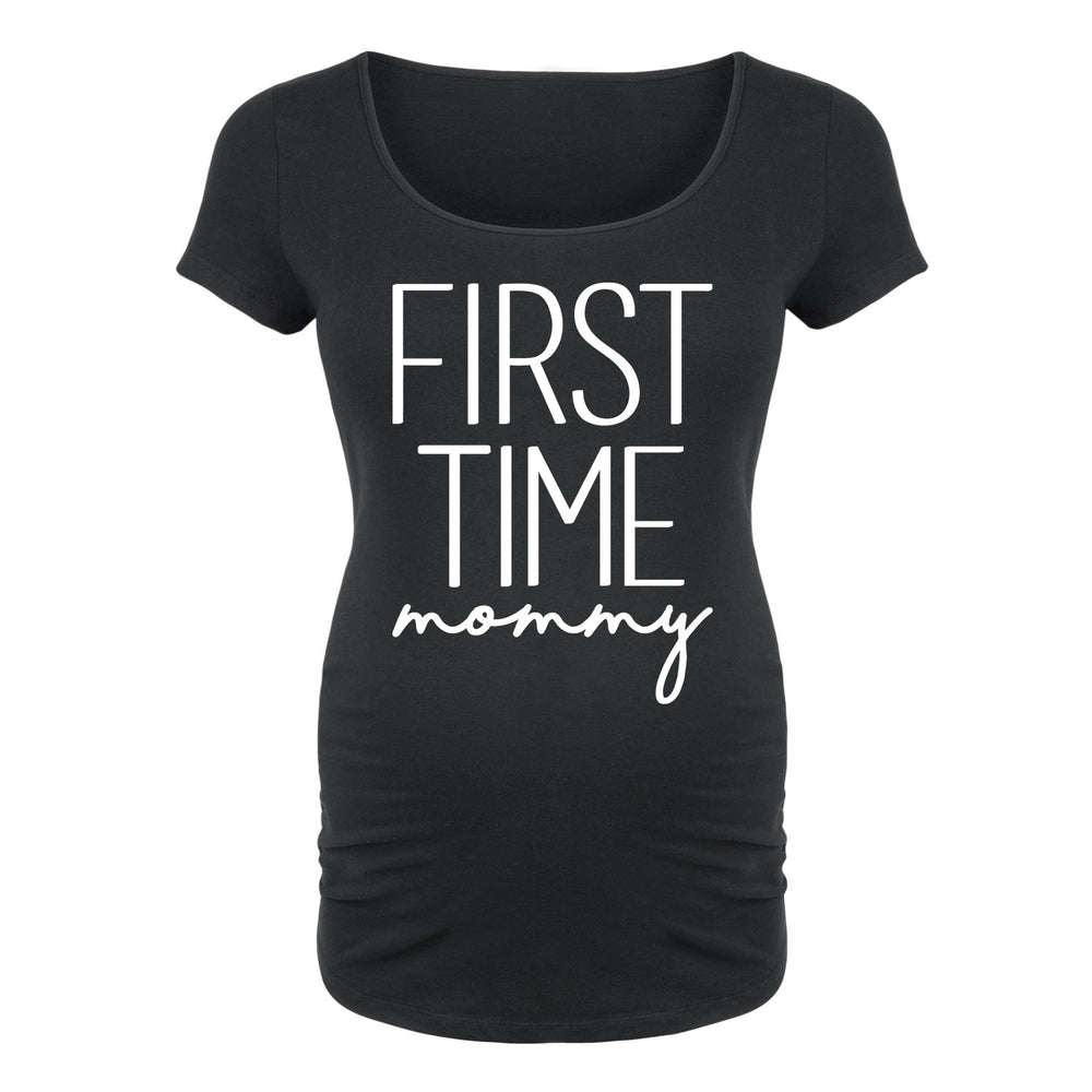 First Time Mommy - Maternity Short Sleeve T-Shirt