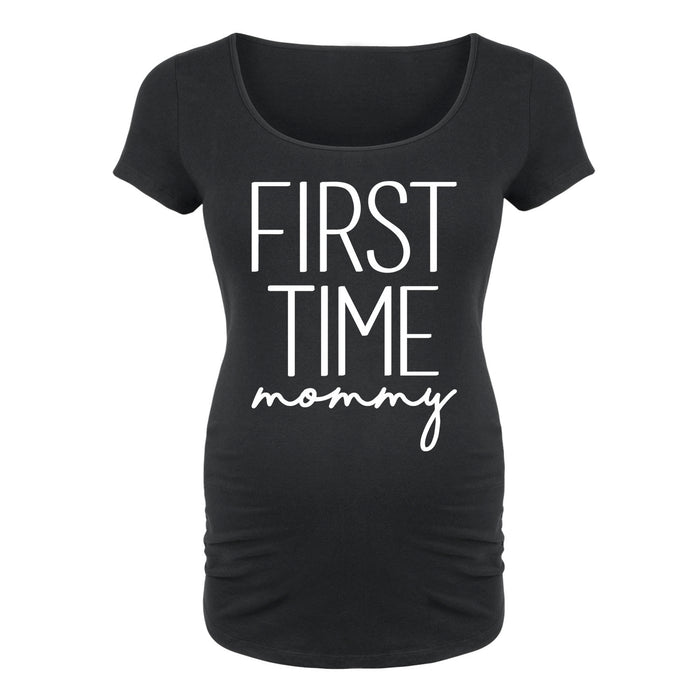 1a09db735f7bc First Time Mommy Maternity Tee — Instant Message™