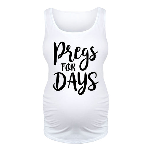 Pregs For Days Maternity Tank