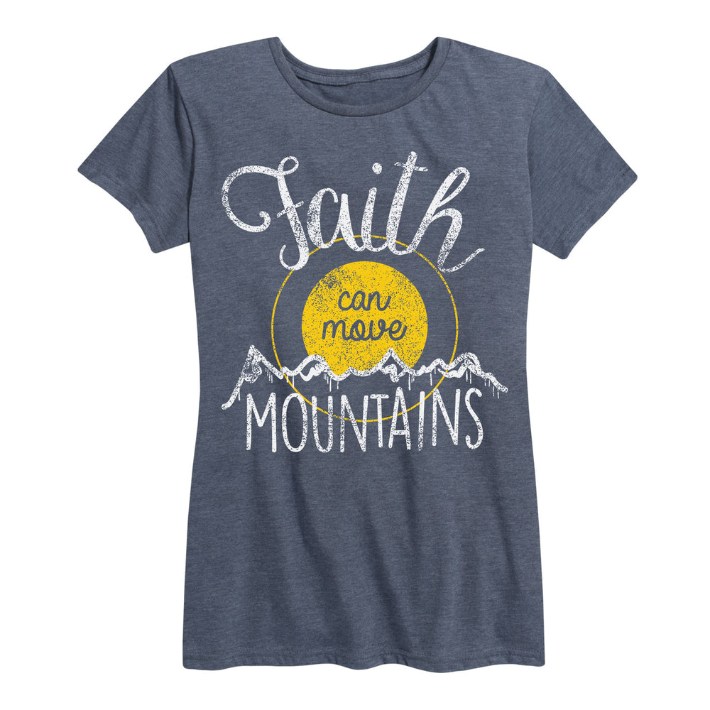 Faith Can Move Mountains - Women's Short Sleeve T-Shirt