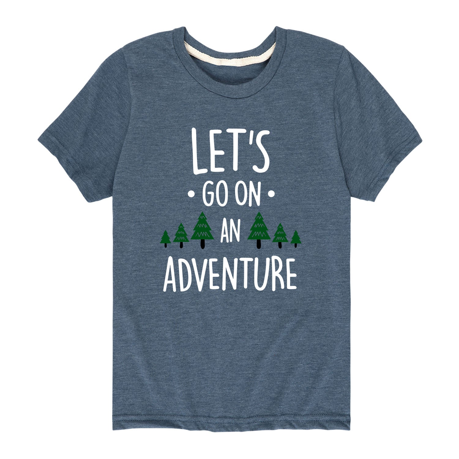 Let's Go On An Adventure - Youth & Toddler Short Sleeve T-Shirt