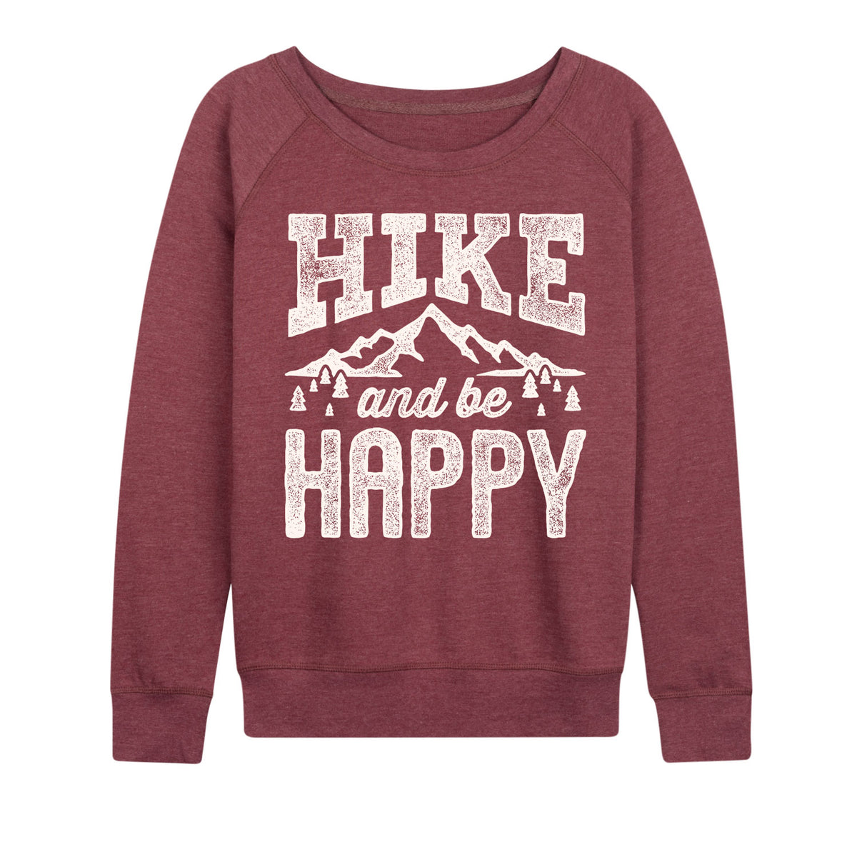 Hike And Be Happy - Women's Slouchy