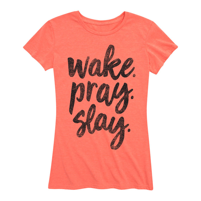 Wake Pray Slay - Women's Short Sleeve T-Shirt
