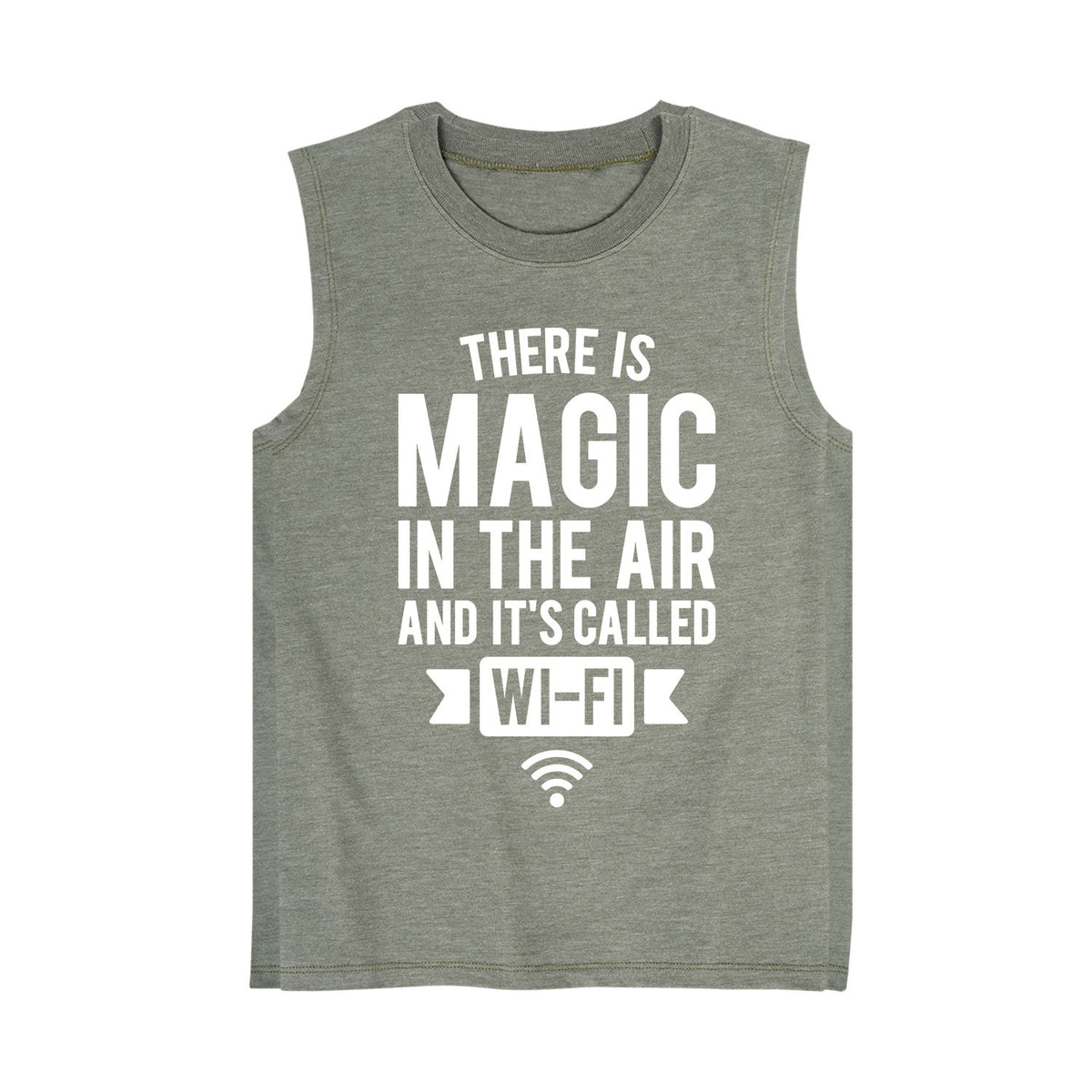 There is Magic in the Air and Its Called WIFI - Youth Tank Top