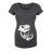 Skeleton Dinosaur - Maternity Short Sleeve T-Shirt