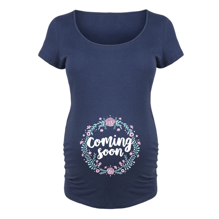 Coming Soon Maternity Tee