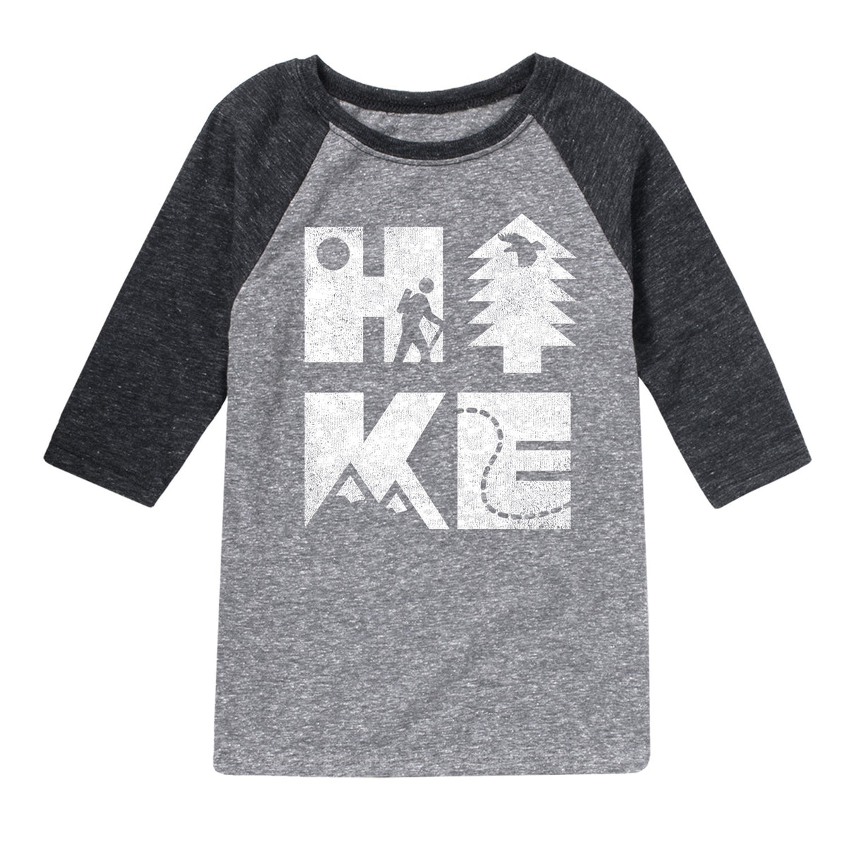Hike Icons - Youth & Toddler Raglan