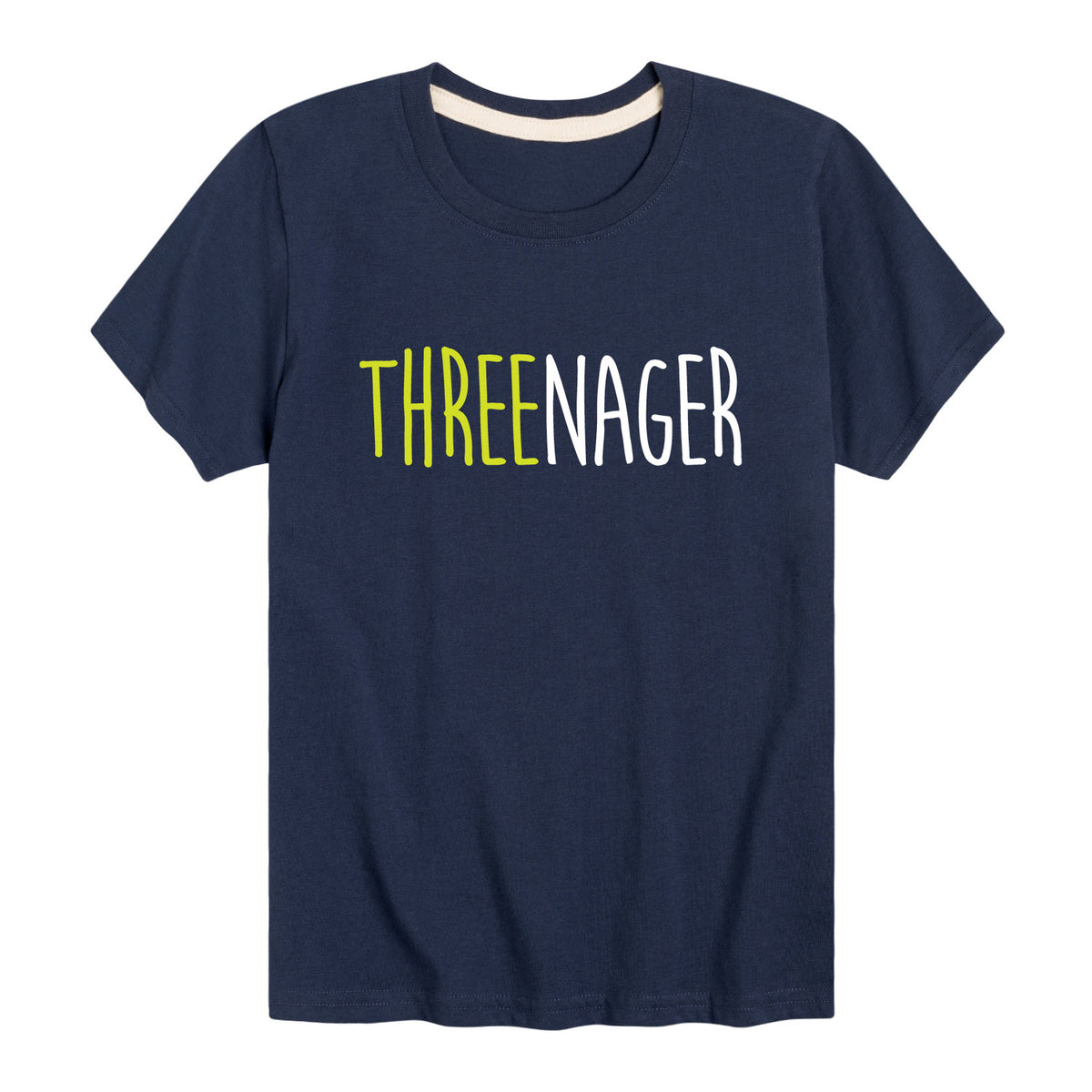 Threenager - Youth & Toddler Short Sleeve T-Shirt