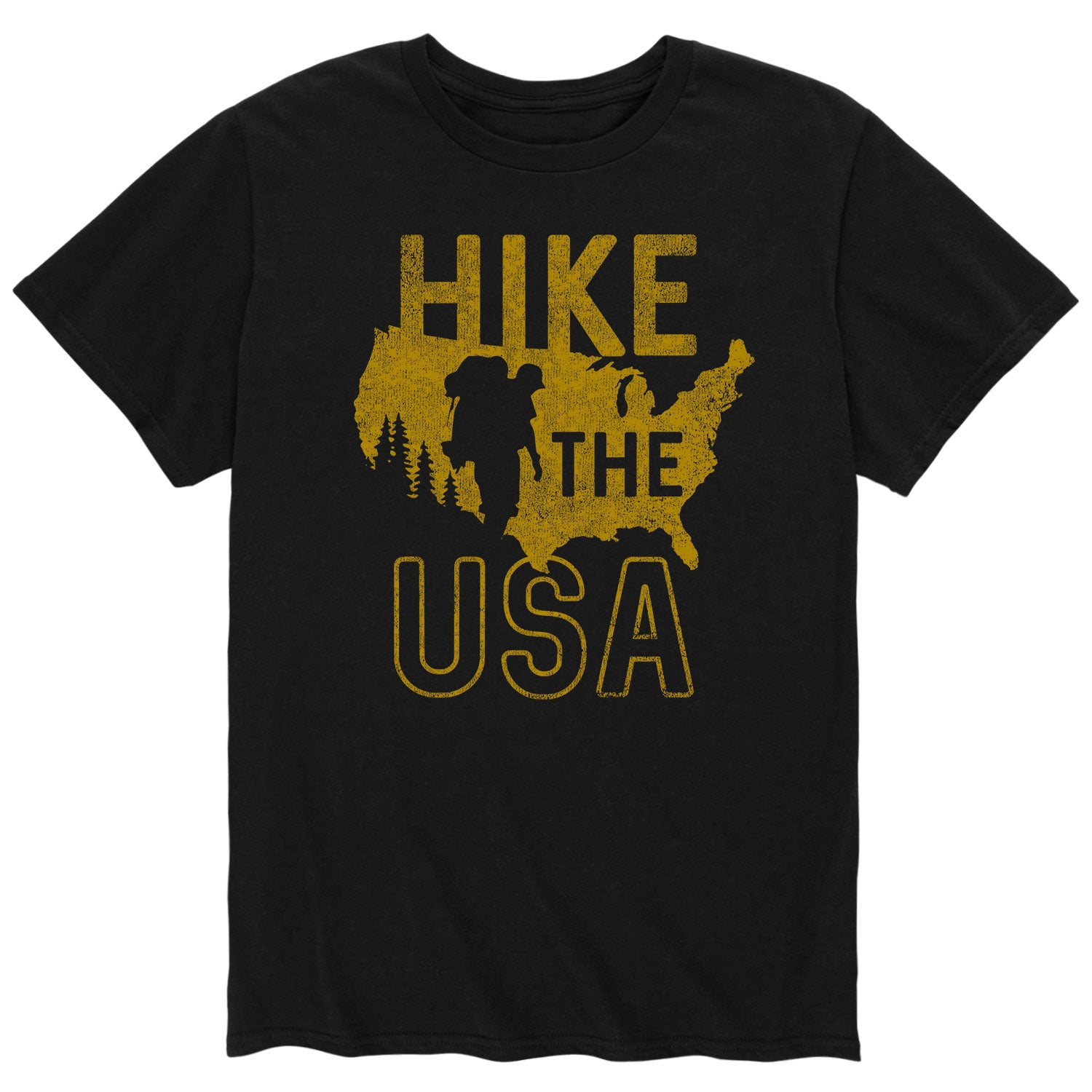 Hike the USA - Men's Short Sleeve T-Shirt