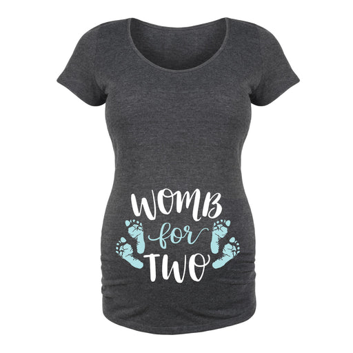 Womb For Two - Maternity Short Sleeve T-Shirt