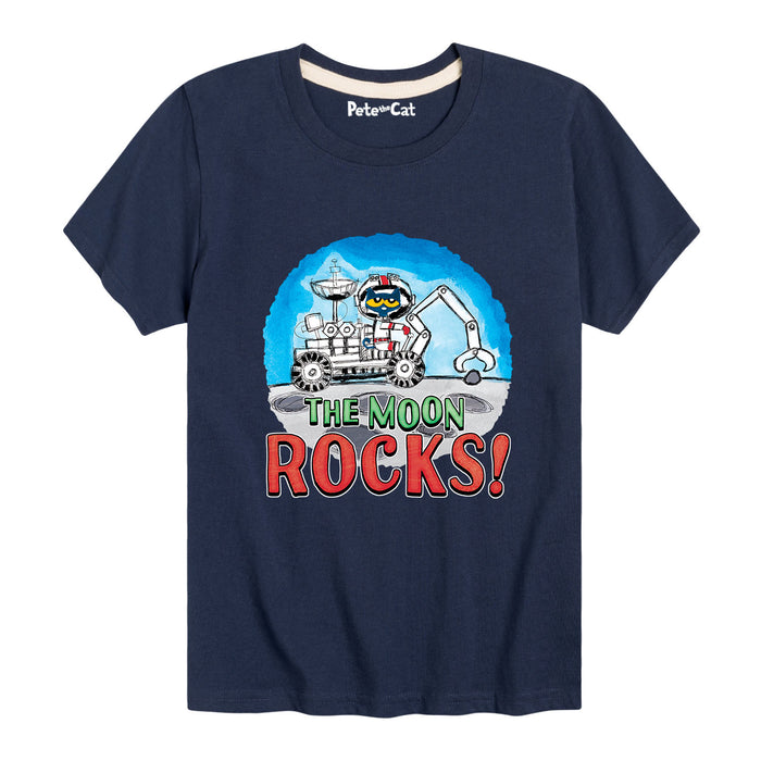 The Moon Rocks - Youth & Toddler Short Sleeve T-Shirt