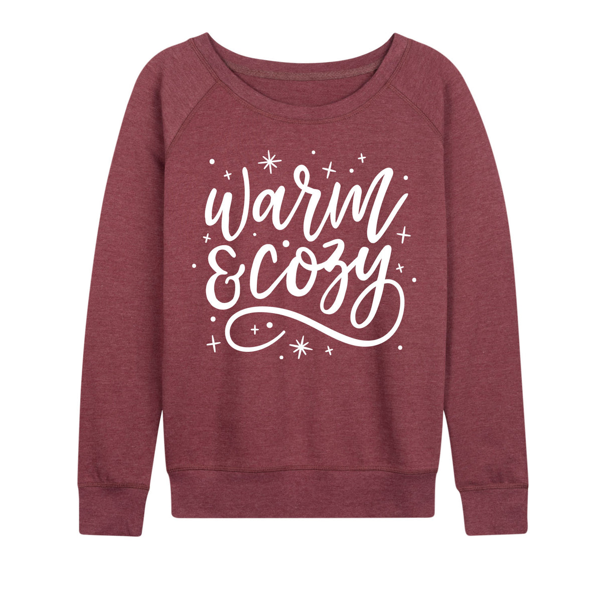 Warm And Cozy - Women's Slouchy