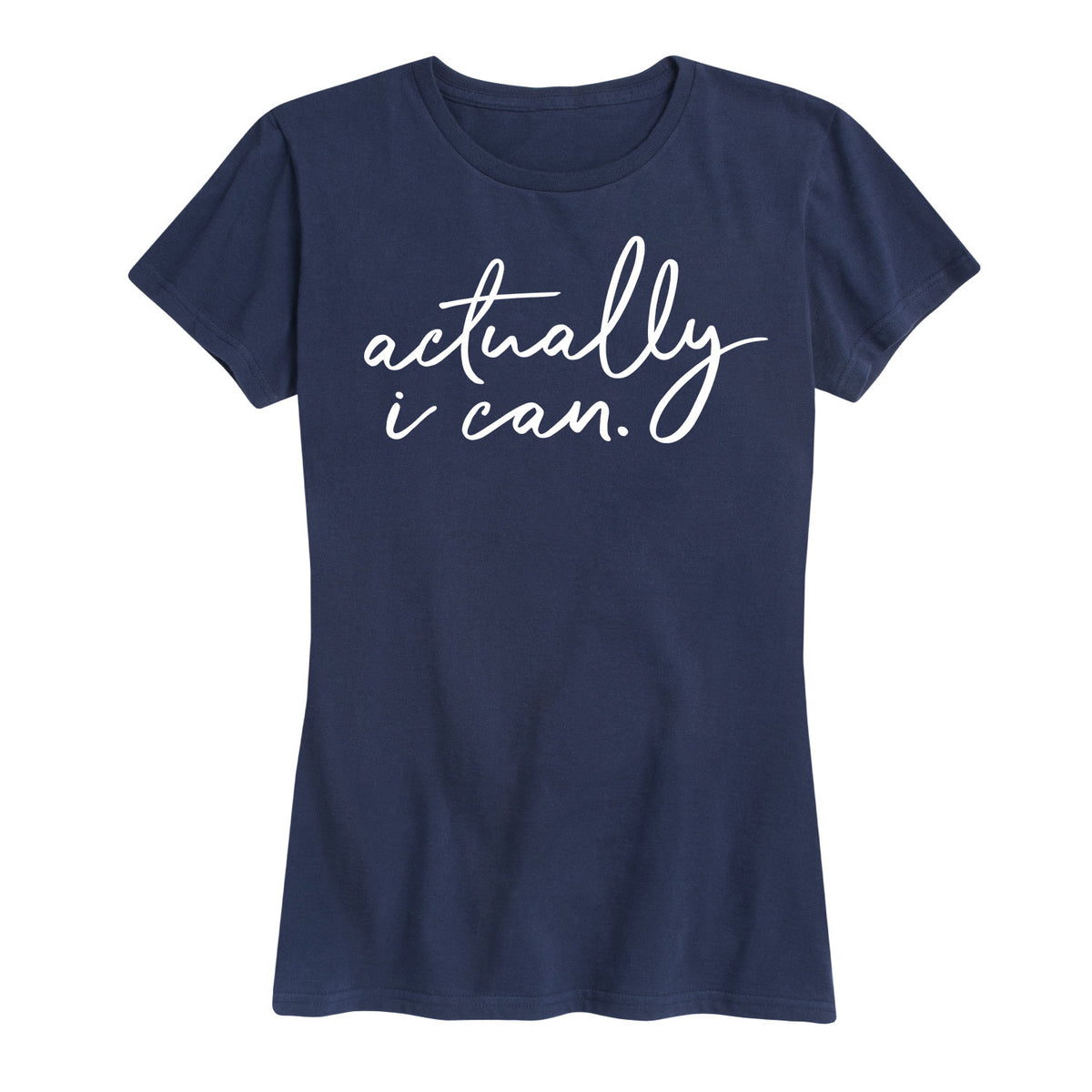 Actually I Can - Women's Short Sleeve T-Shirt