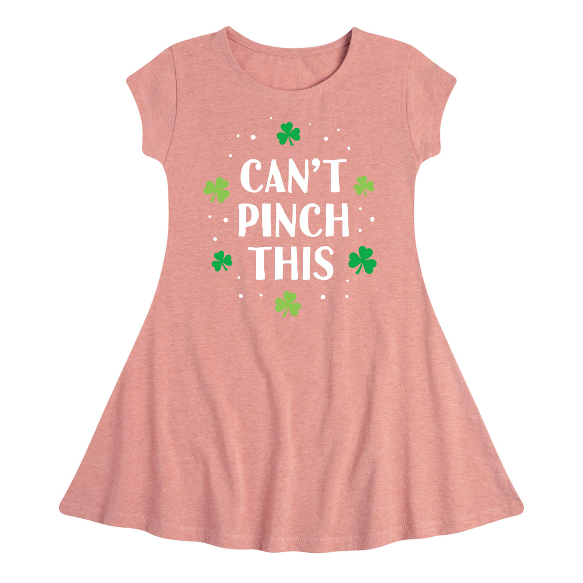 Can't Pinch This - Youth & Toddler Girls Fit and Flare Dress