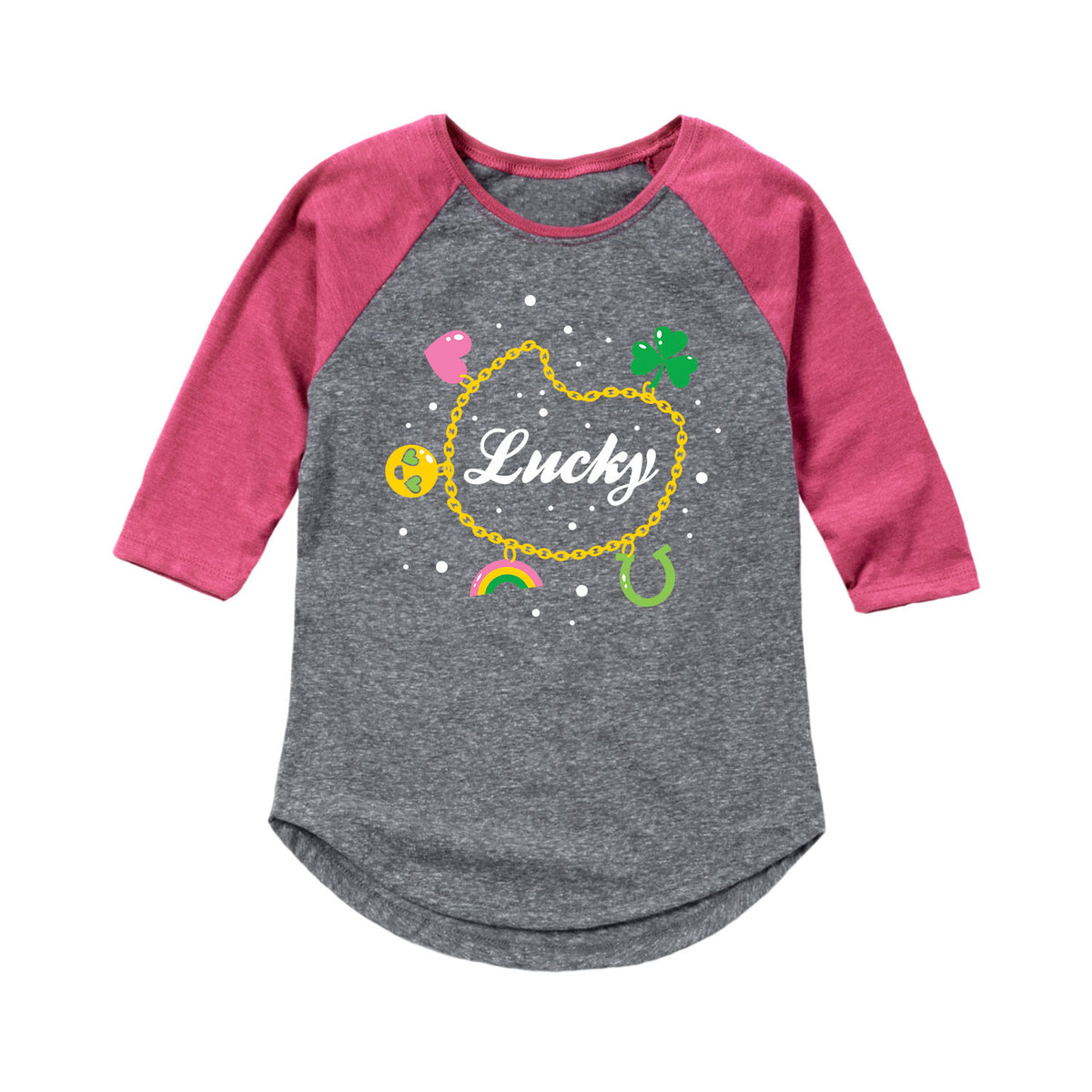 Charm Bracelet - Youth & Toddler Girls Raglan