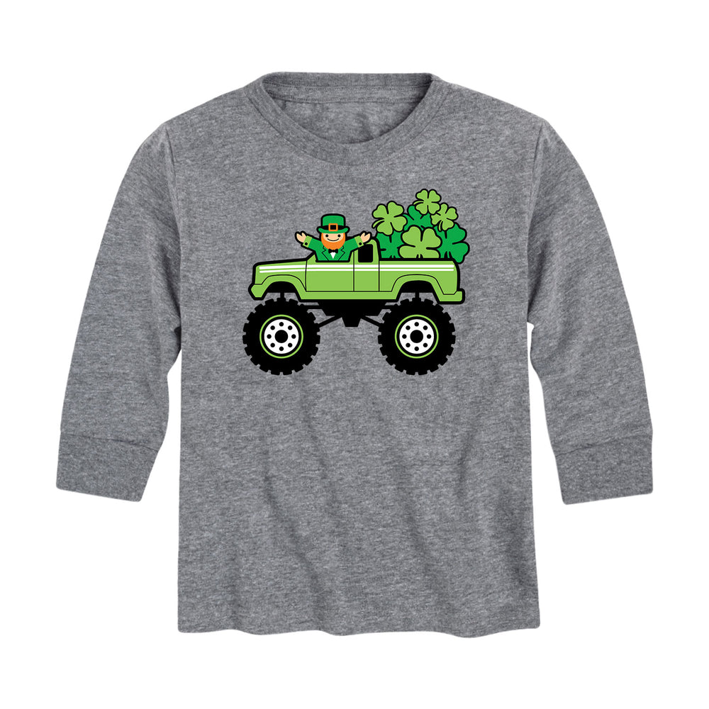 Delivering Shamrocks - Youth & Toddler Long Sleeve T-Shirt