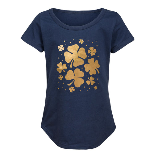 Shamrocks - Youth Girl Short Sleeve T-Shirt
