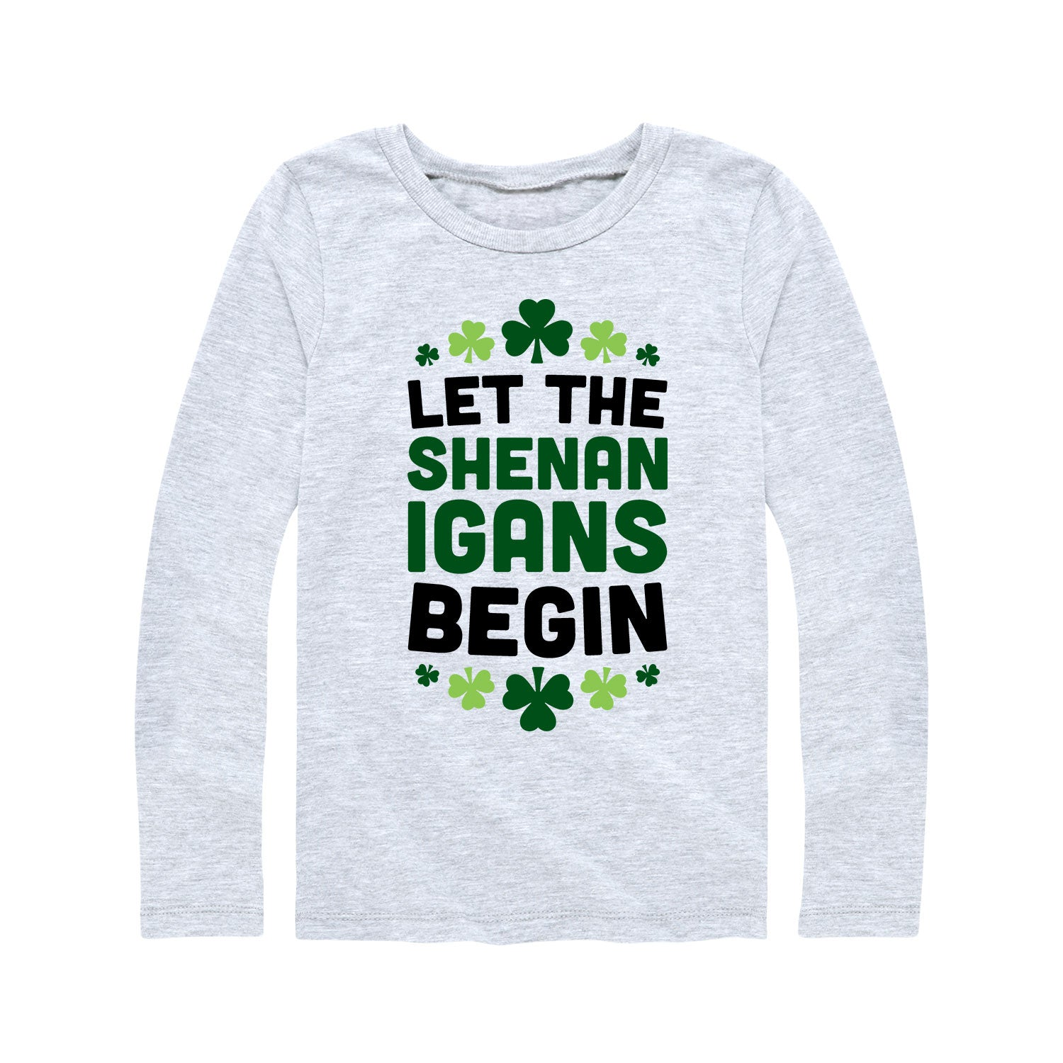Let The Shenanigans Begin - Youth Girl Long Sleeve T-Shirt