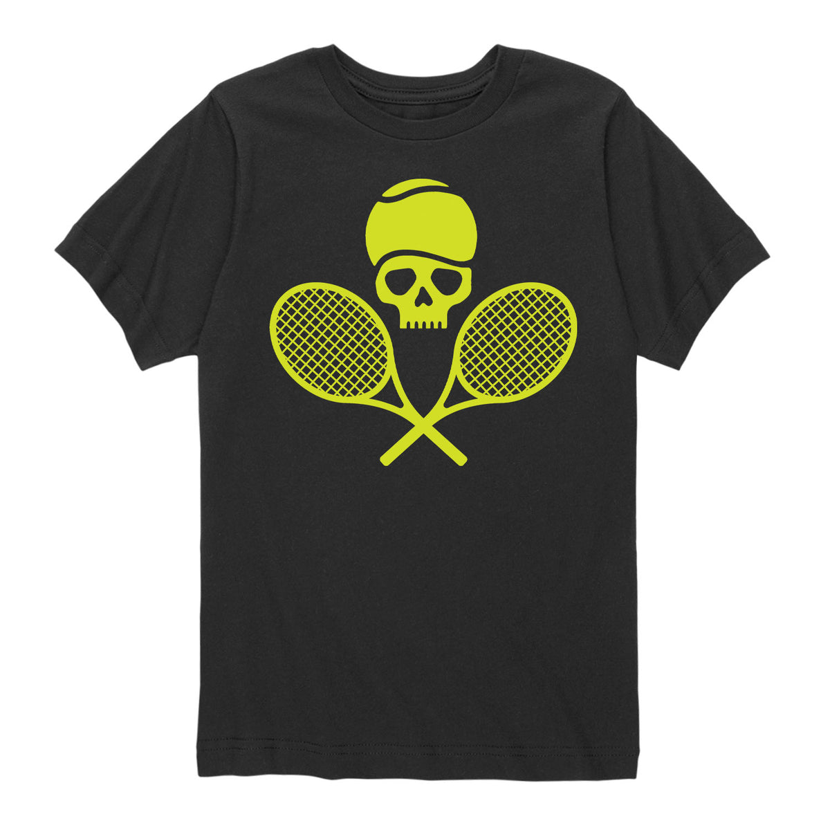Tennis Skull - Youth & Toddler Short Sleeve T-Shirt