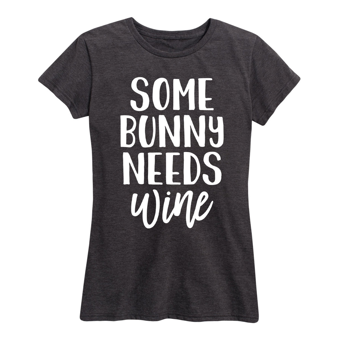 Some Bunny Needs Wine - Women's Short Sleeve T-Shirt