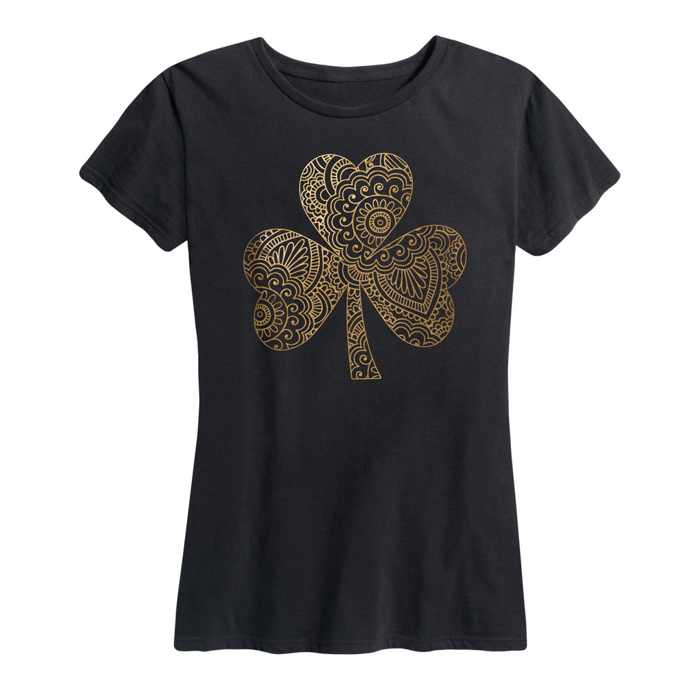 Henna Shamrock - Women's Short Sleeve T-Shirt