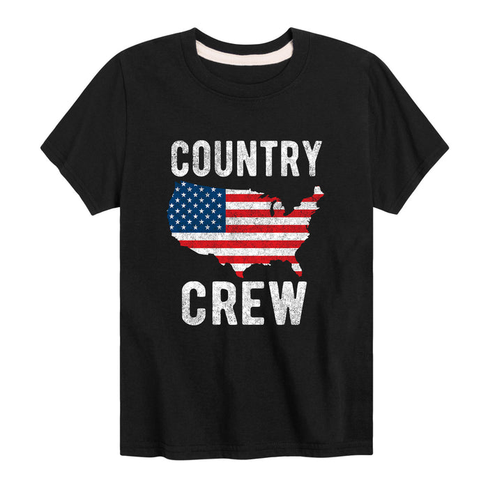 Country Crew - Youth & Toddler Short Sleeve T-Shirt