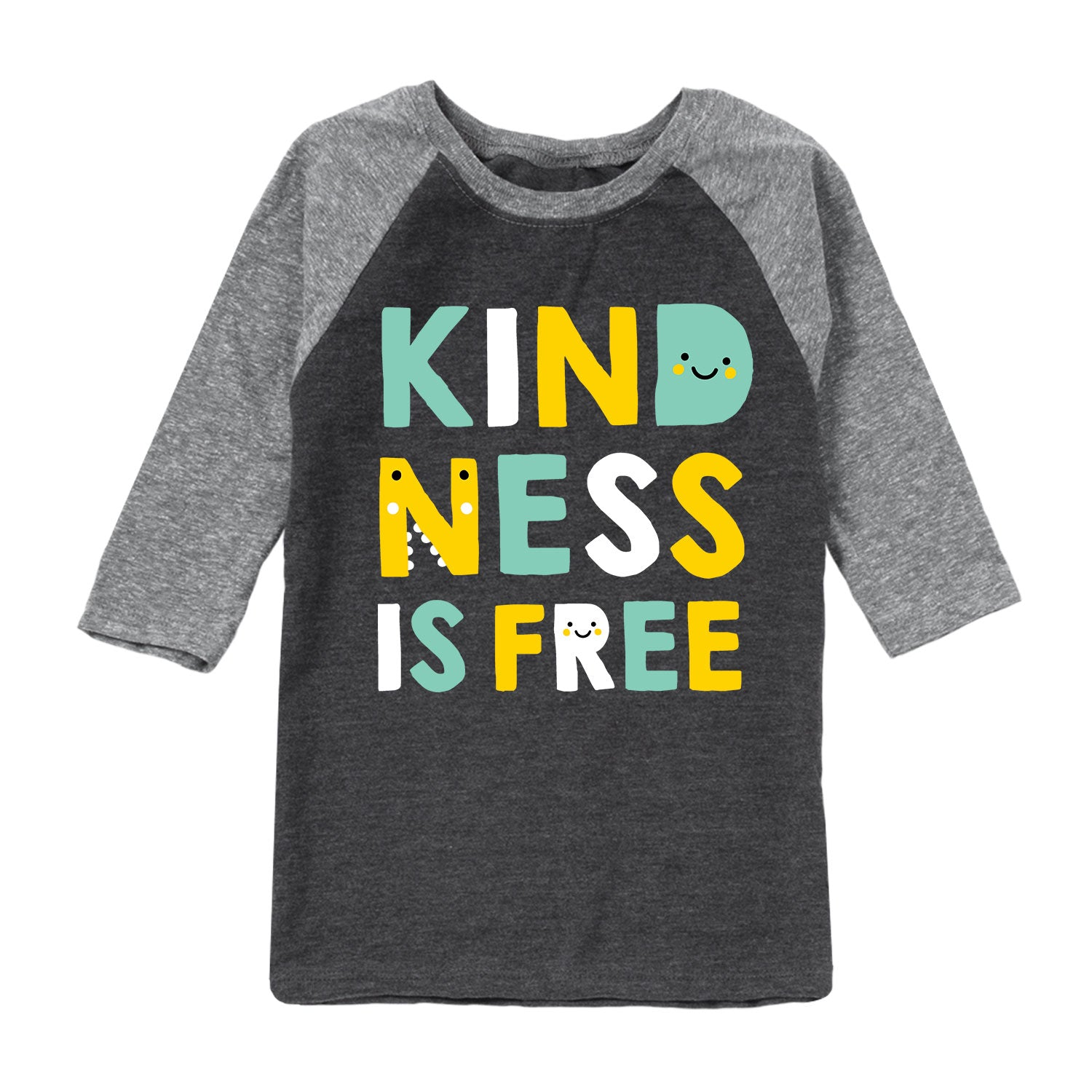 Kindness Is Free - Youth & Toddler Raglan