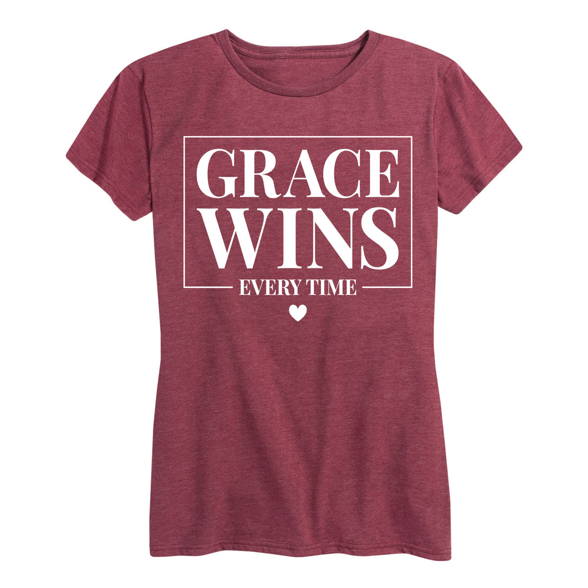 Grace Wins Every Time - Women's Short Sleeve T-Shirt