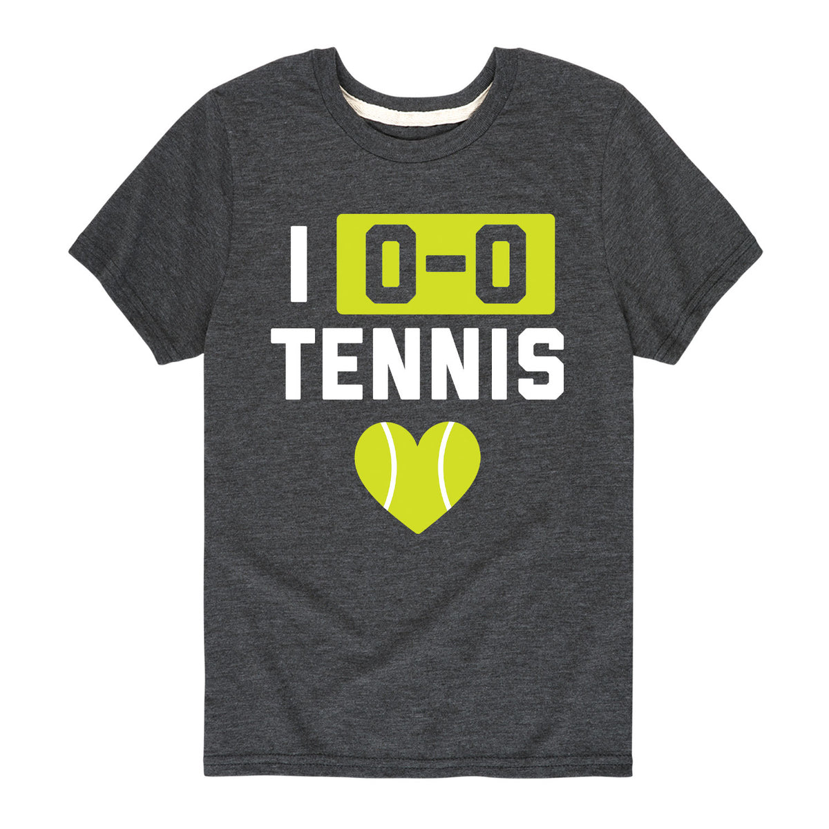 I Love Tennis - Youth & Toddler Short Sleeve T-Shirt