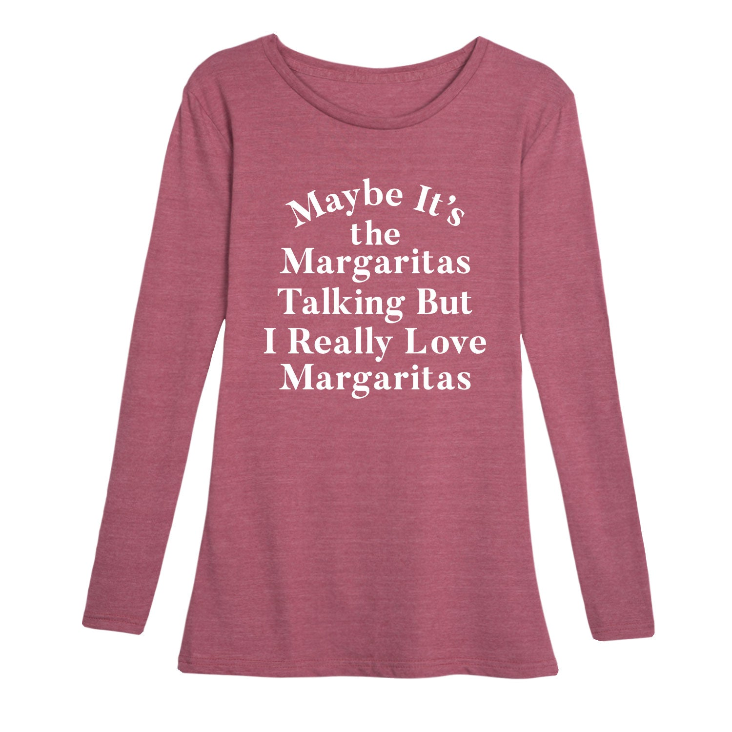I Really Love Margaritas - Women's Long Sleeve T-Shirt