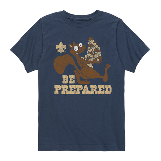 BSA Be Prepared-Kids Short Sleeve Tee