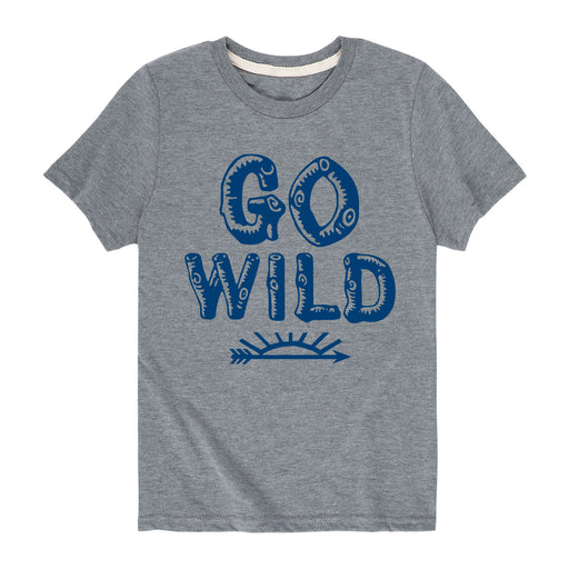 Go Wild - Youth Short Sleeve T-Shirt