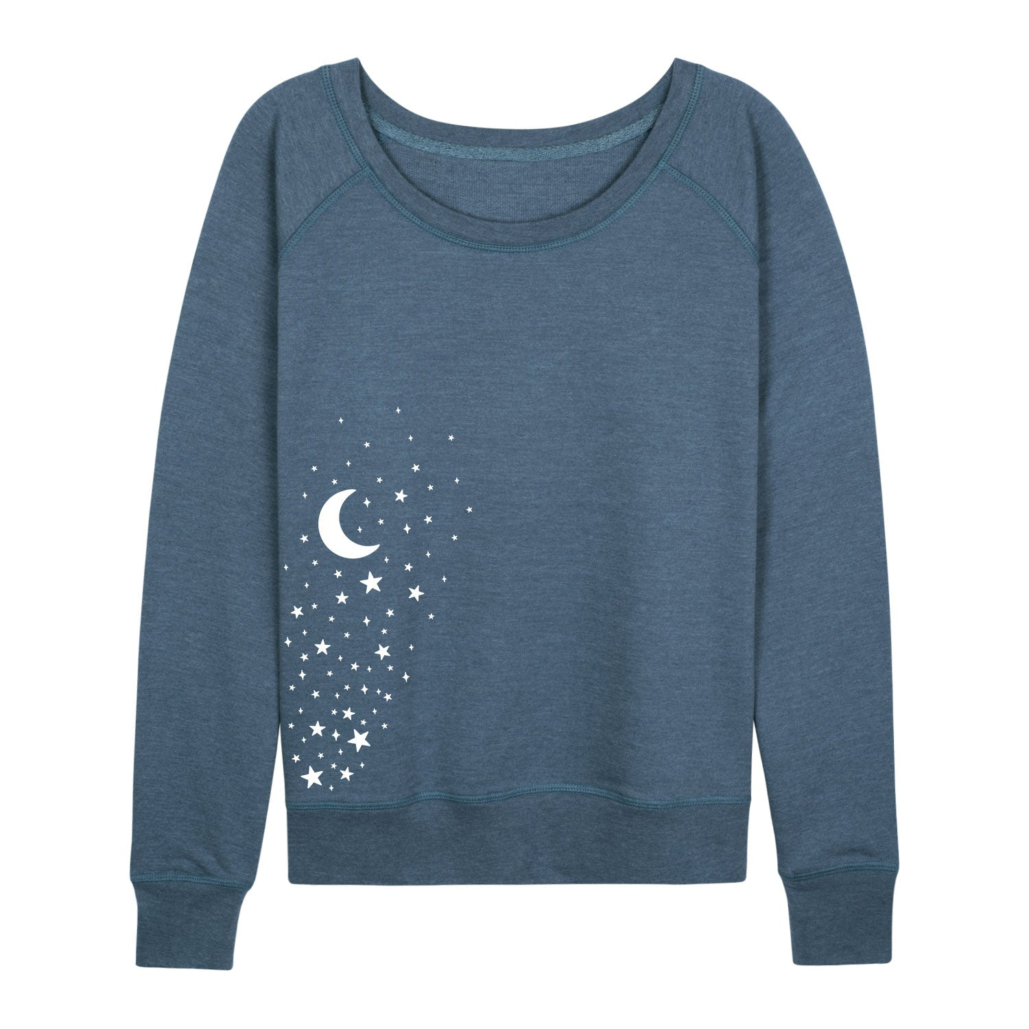 Star Cluster With Moon - Women's Slouchy
