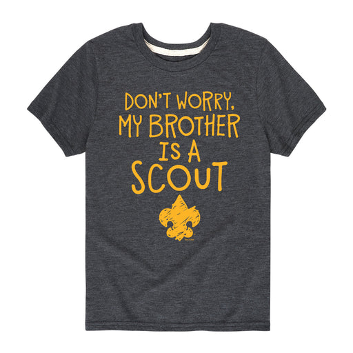 Brother Is A Scout - Youth Short Sleeve T-Shirt