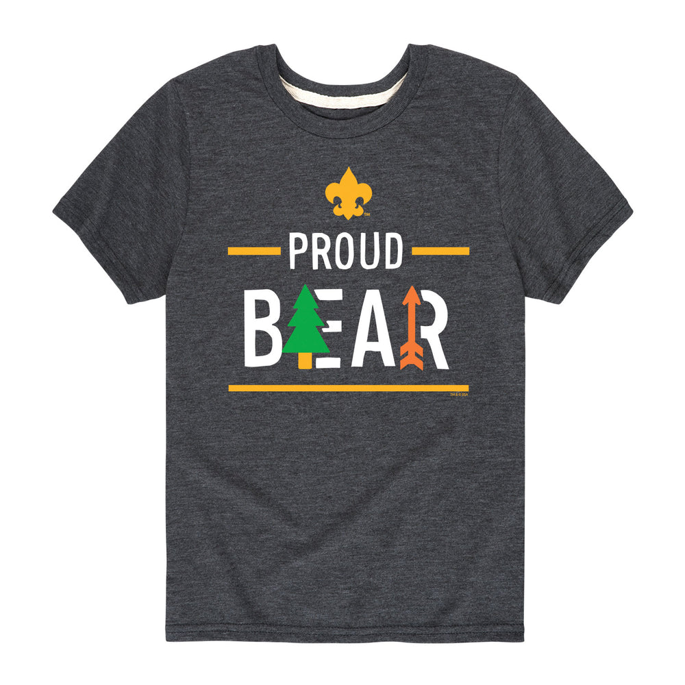 Icon Bear Cub Scout - Youth Short Sleeve T-Shirt