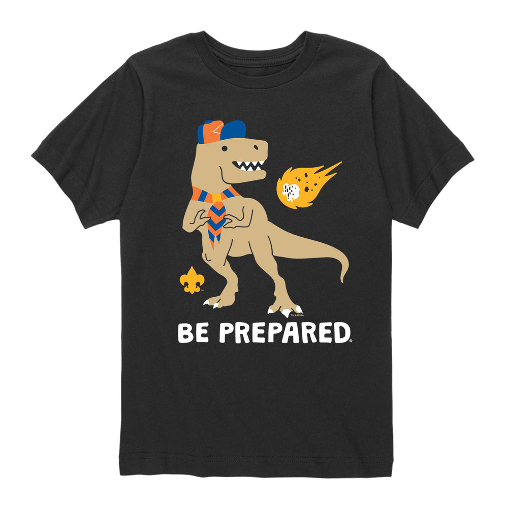 Scout Dino - Youth Short Sleeve T-Shirt