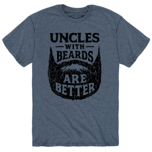 Uncles With Beards Are Better - Men's Short Sleeve T-Shirt
