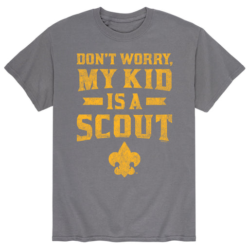 My Kid A Scout - Men's Short Sleeve T-Shirt