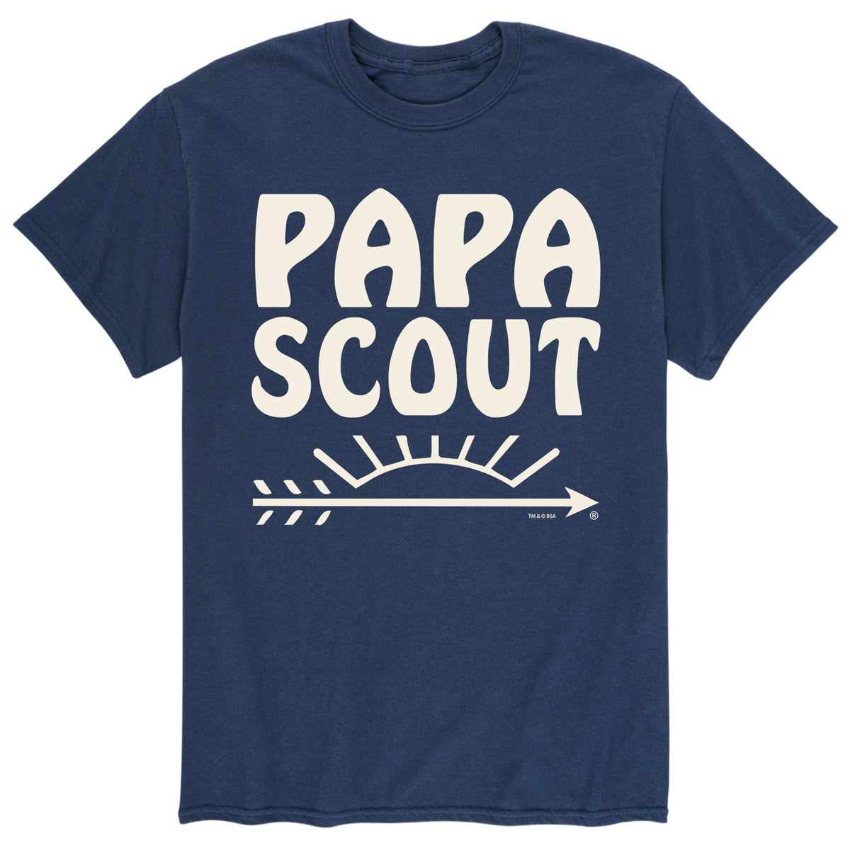 Papa Scout - Men's Short Sleeve T-Shirt