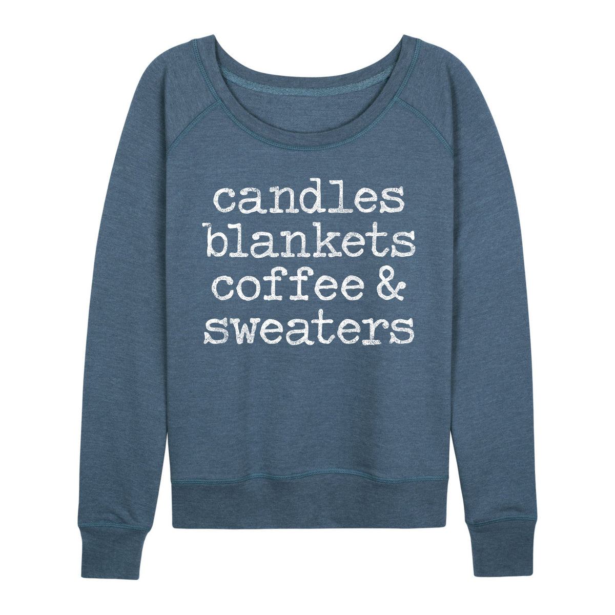 Candles Blankes Coffee And Sweaters - Women's Slouchy